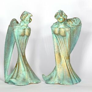 "Art sculpture ""Angel"" 18 cm unique Andreas Loeschner-Gornau"