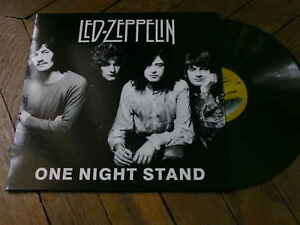 LED ZEPPELIN One night stand LP Vinyl couleur BBC 27 6 69