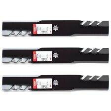 "3PK Oregon 92-616 G3 Gator Blades for 48"" John Deere E150, E160, E170"