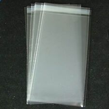 100 Cello Bags Self Seal Size DL for Cardmaking NEW