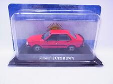 66337 Atlas Renault 18 GTX II 1987 rot Modellauto 1:43 NEU in OVP