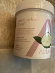 Almay Eye Makeup Remover Pads Gentle Oil Free 80 Pads -