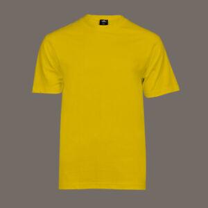 T-Shirt gelb mit Rundhalsausschnitt 100% Baumwolle | ohne Aufdruck - NEU !!!