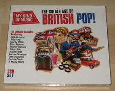 The Golden Age Of British Pop! (2CD 2012). NEW & SEALED