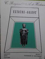 1976 Catálogo De Venta Demuestra Drouot Extreme Orient