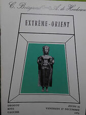 1976 CATALOGUE DE VENTE ILLUSTRE DROUOT EXTREME ORIENT
