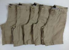 "LOT Aeropostale Aero 9"" Bermuda Shorts Womens 4 School Uniform Summer Tan READ"