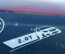 Chevy Cruze 2.0T Vinyl Sticker