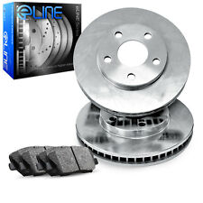 [FRONT] eLine Replacement Brake Rotors & Semi-Met Brake Pads