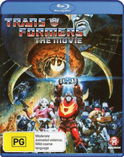 TRANSFORMERS BLU-RAY 1986 THE MOVIE REMASTERED EDITION