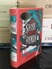 THE SWISS FAMILY ROBINSON by JOHANN DAVID WYSS Illustrated, Leather & New!