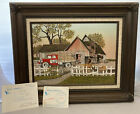 Red Farm Truck And Barn by H.Hargrove 50th Limited Edition Canvas w/ COA