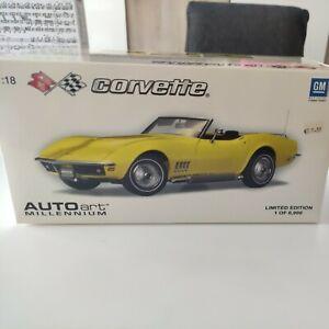 1/18 Auto Art Corvette 1969 Édition Limitée