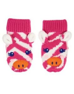 GYMBOREE COLOR HAPPY CUTE PINK GIRAFFE SWEATER MITTENS 0 12 24 2T 3T 4T 5T NWT