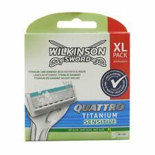 5 Wilkinson Sword Quattro Titanium Sensitive Rasierklingen 5 Stück Klingen OVP