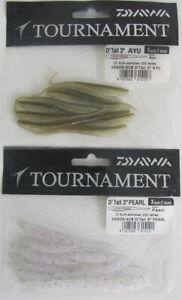 "DAIWA TOURNAMENT D'TAIL 3"" (10 pack) / 2 colors"
