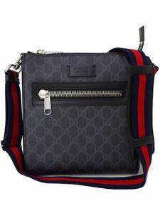 GUCCI GG SUPREME Small Messenger Bag 523599 #T064