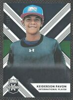 Keiderson Pavon 2018 Elite Extra Edition Rookie #191 /999 Panini Angels Baseball