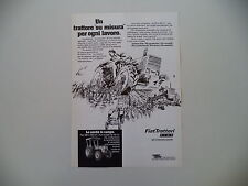 advertising Pubblicità 1977 TRATTORI FIAT 420 DT