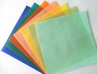 ✂️ 12 x 12 Summer Fall Holiday Vellum Paper Pack yellow green orange peach Spec