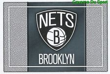 031 TEAM LOGO USA BROOKLYN NETS STICKER NBA BASKETBALL 2017 PANINI