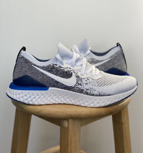 Nike Epic React Flyknit 2 White Blue BQ8928 102 Multiple Sizes New