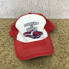 Starsky and Hutch Snapback Hat Cap Red White Adjustable