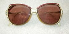 Cool Vintage 1970's Huge Pink & Ivory Rodenstock Stella Eyeglasses!
