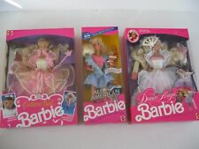 All American Barbie-Costume Ball-Dance Magic Barbie Dolls-Sealed-New
