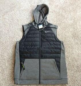 Nike Synthetic Fill Winterized Full-Zip Training Vest BV4534-071 Men's Size M.
