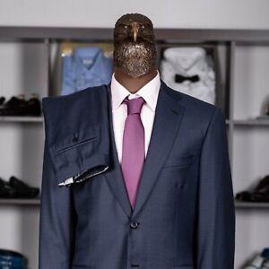 NWOT $5400 BRIONI SECOLO Micro-Check Suit Blue 40US/50IT