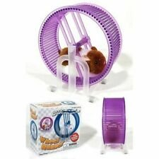 New Happy Hamster Pet with Exercise Wheel Runner Battery Operated Kid's Toy L138