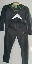 BOYS AGE 9 10 ADIDAS MESSI TRACK SUIT JACKET & BOTTOMS