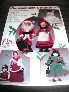 Craftime Christmas Knit Collection Including 6 Knitting Patterns