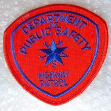 Patch- Highway Patrol Department of Public Safety US Police Patch (New* )