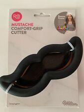 Wilton MUSTACHE Metal Cookie Cutter Comfort Grip -  Rosanna Pansino NIP