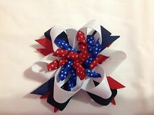 Kids Baby / Toddlers  4th of July Hair Bow