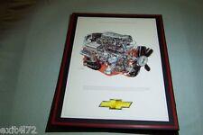 1965 Chevy Corvette 327 Fuel Injection L84 Engine Illustration David Kimble