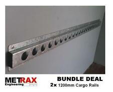 2x Cargo rails 1200mm lashing track load restraint trailer Van racking