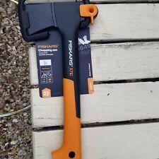 Fiskars  X7 Chopping Axe XS. Hatchet Anti Shock New quick dispatch