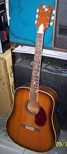 1960's Truetone Kay Full Size Acoustic Guitar (Same Size as Harmony H1260)