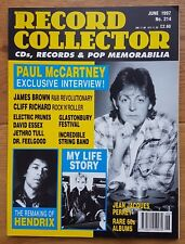 Record Collector Magazine - June 1997, No. 214 Paul McCartney, James Brown, Jimi