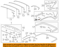 Chevrolet GM OEM 11-15 Camaro Convertible/soft Top-Extension Right 20976348
