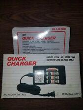"JRL Radio Control AC Quick Charger 37117 2 OR 4 ""AA"" 500 mAH NI-Cad Batteries"