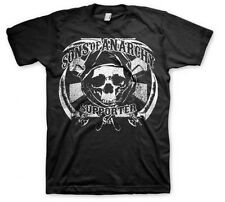 Sons Of Anarchy Soa Samcro Seguidor Hoz Skull Reaper Motero Camiseta S-3XL