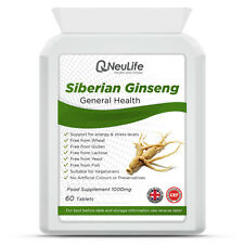 Siberian Ginseng - 1000mg - 60 Tablets