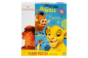 DISNEY THE LION KING COOLEST DUDE IN THE JUNGLE 46 PIECE FLOOR PUZZLE