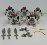 Lot of 5 Space Cadet Raph Raphael TMNT Ninja Turtles 1990 Action Figures