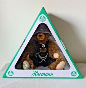 """HERMANN 14"""" """"Old Bavarian Bear"""" Limited Edition, Fully Jointed, Mohair, GERMANY"""