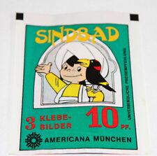 Americana Sindbad De 1978, 1 X Sac en Papier Paquet Bustina Pochette Rare ! Rare
